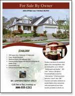 real estate flyer templates  xerox for small businesses small businesses resources