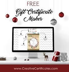 Holiday certificates free printable certificates. Free Christmas Gift Certificate Template Customize Online Download