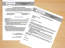 Cover Letter Resume And Bookkeeper Template Writing Tips