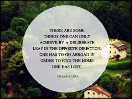 Kafka Quotes Enchanting There Are Some Things One Can Only Achieve By A Deliberate Leap In
