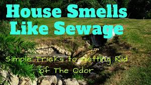 sewer gas smell eliminate odor