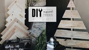 Wooden Christmas Sign With Lights Diy Wood Christmas Trees With Lights