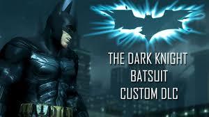 The Dark Knight Custom DLC Skin Mod for Injustice Gods Among Us.