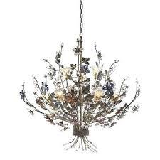 multi colored chandelier elk lighting 9 light chandelier in bronzed rust multi colored multi colored blown glass chandelier