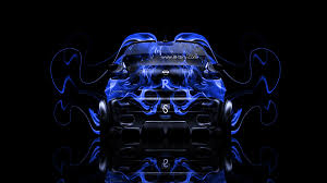 nissan juke r back fire abstract car