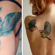 Top 20 Ptačích Tetování Která Symbolizují Svobodu Evropa 2