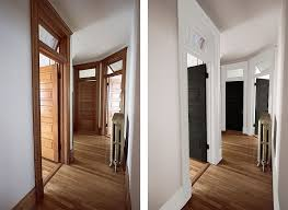hallway before and after mockup
