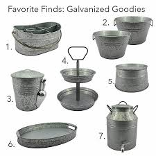 so many great galvanized pieces by bhglivebetter in and at and the ever so popular tiered tray all of these pieces qualify for
