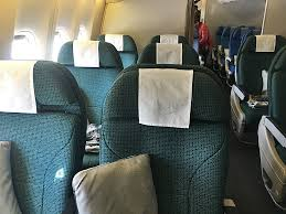 Review Cathay Pacific 777 300er Premium Economy Mad To Hkg