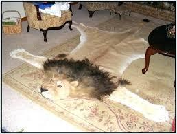 fake animal rug fake animal skin rugs tiger skin rug with head fake rugs home decorating
