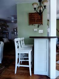 Diy Breakfast Bar Diy Breakfast Barfacing Eastfrench Doors White Marble Top3