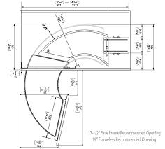 rev a shelf the curve luxury kitchen blind corner unit