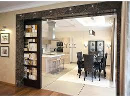 kitchen slide door kitchen sliding glass door design with natural brick wall color kitchen sliding door kitchen slide door