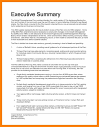 6 Executive Summary Sample Students Resume