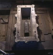 the history blog blog archive oldest bones of english royal  tomb lead coffin inside