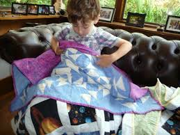 """Share the love with Project Linus   Lyn Alderson & One UK charity has a special way of showing love to children in hospital-  it sends them a big """"hug"""" in the shape of a hand-made quilt. Adamdwight.com"""