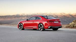 The Audi RS5 coupe is revealed at the Geneva Motor Show