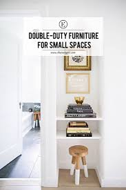 Double Duty Furniture The Best Double Duty Furniture For Small Spaces The Everygirl