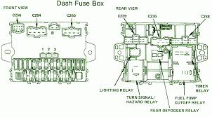 nissan pathfinder fuse box diagram nissan automotive wiring diagrams 1987 honda accord lx dash fuse box diagram