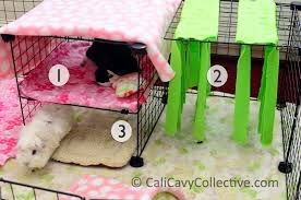 3diy c c bunk bed fleece forest cavy vertical hay rack cozy guineapig cage accessories