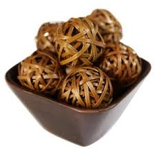 Decorative Balls Hobby Lobby Nearly Natural 100100 in H Brown Decorative Balls Set of 10010002100 94