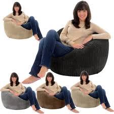 jumbo cord giant adult beanbag chair big bean bag lounger bags