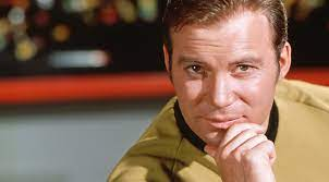 Captain Kirk also goes to space in our ...