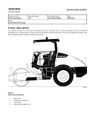 volvo sd70d single drum roller service repair manual