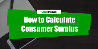 how to calculate consumer surplus title