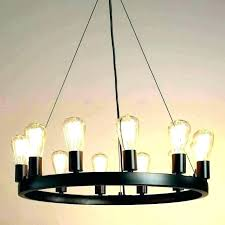 rustic candle chandelier chandeliers hanging non electric wooden