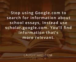 stop using google to search for info about essays laughtard stop using google to search for info about essays