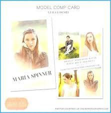 Comp Card Template Free Comp Card Template Free Comp Card