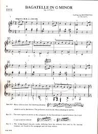 instruction and comparative performances of beethoven s bagatelle beethoven bagatelle in g minor p 1