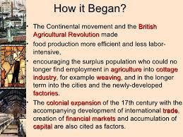 the industrial revolution presentation why did industrialization begin in england first 3