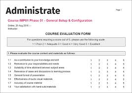Course Evaluation Template - Radioberacahgeorgia.tk