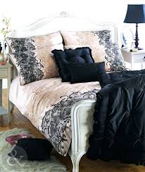 bedding setblack and cream bedding sets wonderful black and cream bedding sets cotton sateen black king