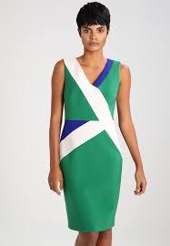 Karen millen etuikleid - multicolour damen bekleidung kleider ...