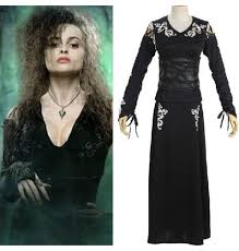 32 off harry potter cosplay bellatrix lestrange black dress costume