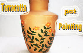 terracotta pots painting