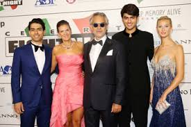 Having been born with poor eyesight, andrea lost his vision completely when he was 12 years old due to a football accident. Andrea Bocelli Amos Bocelli Pictures Photos Images Zimbio