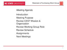 Work Meeting Agenda Ppt Meeting Agenda Introduction Meeting Purpose Review