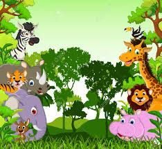jungle animal background. Brilliant Background Animal Backgrounds Cliparts 2739307 License Personal Use Intended Jungle Background C