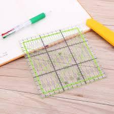 <b>Quilting</b> Ruler <b>Patchwork Sewing Tool</b> Acrylic Multifunction <b>DIY</b> ...