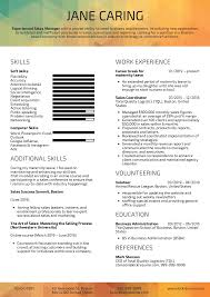 Extended Resume Template Resume Examples By Real People Maternity Leave Sales