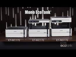 EcoTank ET-M1170 Wireless Monochrome Supertank Printer - <b>Epson</b>