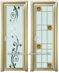 modern bathroom door glass door design great glass door fridge