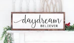 Daydream Believer Inspirational Graphic By Farmstone Studio Designs Creative Fabrica