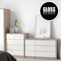 cream bedroom furniture. Champagne Avola With Cream Gloss Bedroom Furniture. Furniture B