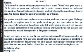 french letters job application letter cover letter cover letter french letters job application letterfrench cover letter example