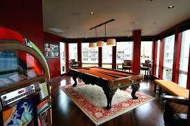 rug under pool table size pool table rug billiards rug family room eclectic with pool table